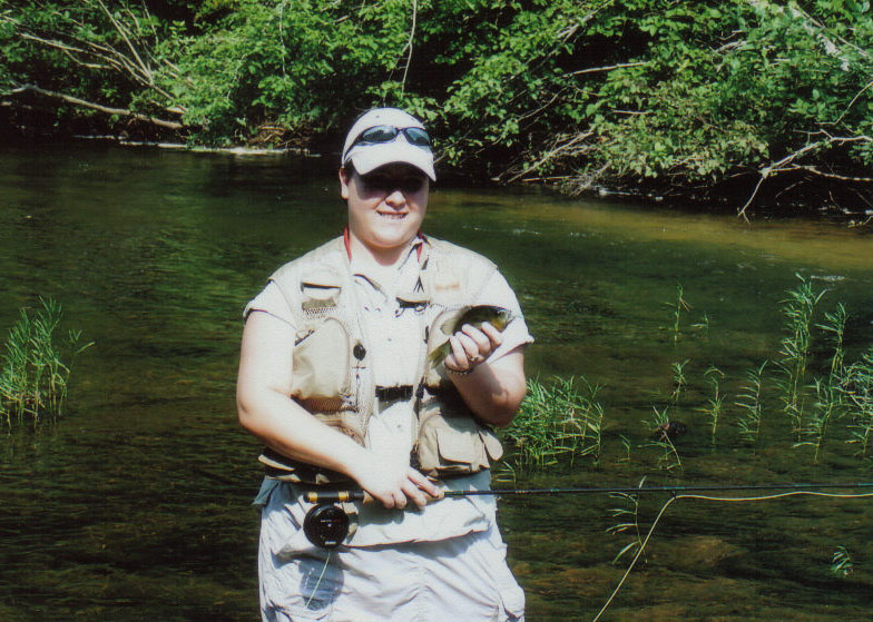 Shawnda snider showing the ladies can get it done on for Trout fishing in alabama